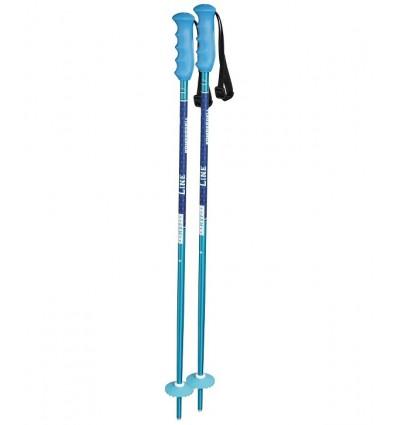 Vaikiškos kalnų slidinėjimo lazdos Komperdell Offense blue