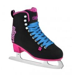 Chaya Classic black pink ice skates