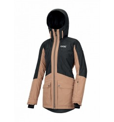 Picture MINERAL Black Ski Jacket