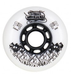 FR Skates STREET INVADERS II 84A wheels
