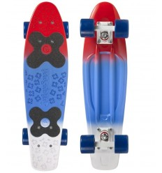 "Pennyboard Choke Juicy Susi 22.5""x6 Red Blue"