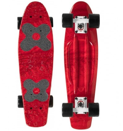 "Pennyboard Choke Juicy Susi 22.5""x6 Red Zora"