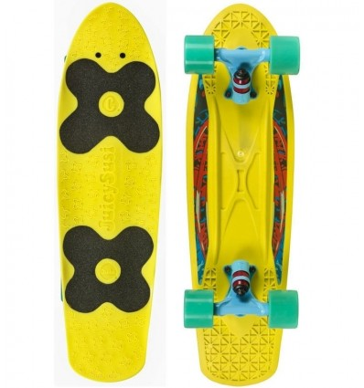 Penny board'as Choke Spicy Sabrina yellow/blue
