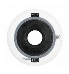 Powerslide DEFCON DD white 80 mm wheels