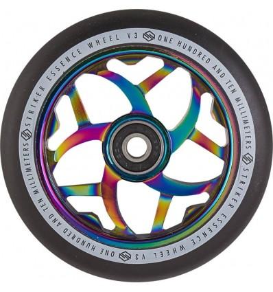 Paspirtuko ratukas Striker Essence V3 Rainbow