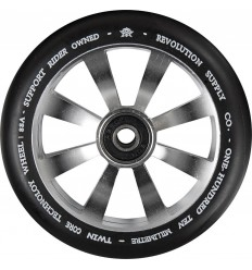 Revolution Supply Twin Core Silver Pro Scooter Wheel