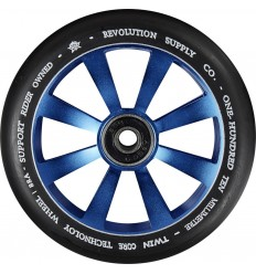 Revolution Supply Twin Core Blue Pro Scooter Wheel