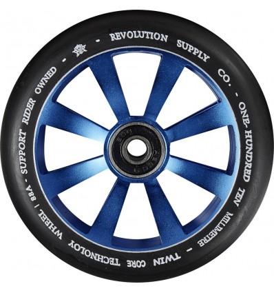 Paspirtuko ratukas Revolution Supply Twin Core Blue