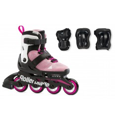 Rollerblade Microblade Combo G emerald/pink skates