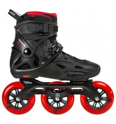 Riedučiai Powerslide IMPERIAL Black Red 110