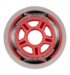 Powerslide One 84mm 82A inline skates wheels with bearings