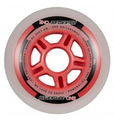 Powerslide One 90mm 82A inline skates wheels with bearings