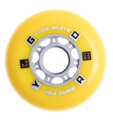 Riedučių ratukai GYRO F2R Yellow 85A