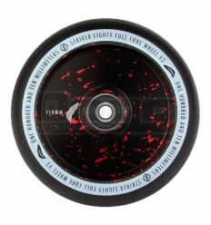 Paspirtuko ratukas Striker Lightly Full Core V3 Black/Red