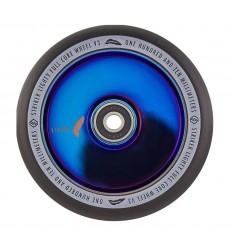 Paspirtuko ratukas Striker Lighty Full Core V3 Blue Chrome