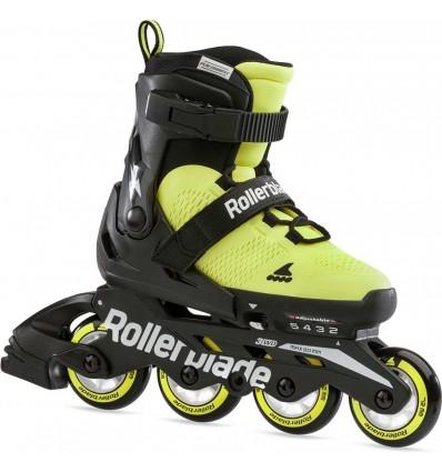 Riedučiai Rollerblade Microblade SE yellow