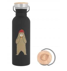 Picture Hampton Black Water Bottle