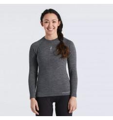 Moteriški termo marškiniai Specialized Women's Merino Seamless Long Sleeve Base Layer