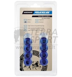 Įvorės ratukams Powerslide spacers Floating 8mm