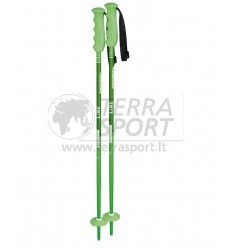 Komperdell Offense green kids ski poles