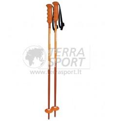 Vaikiškos kalnų slidinėjimo lazdos Komperdell Offense orange