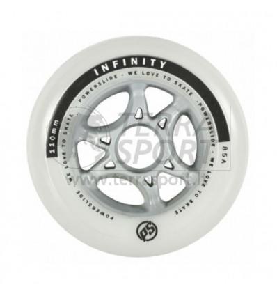 Riedučių ratukas Powerslide Infinity 110 mm