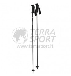 Komperdell Carbon Pure black ski poles